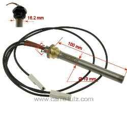 Resistance poele a granule avec vis 300w 220v diam/ètre 9.5mm bougie allumage pellet 140 150 160 170 180mm Longueur 140mm