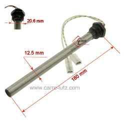 12,5x150 mm Résistance bougie allumage poêle pellet granulés 350 W 230 V D