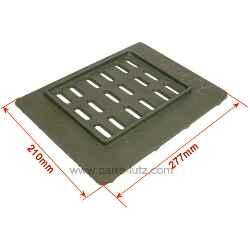 grille de foyer pour insert godin 3277 pi ces d tach es chauffage pi ces d tach es pour. Black Bedroom Furniture Sets. Home Design Ideas
