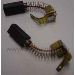 5x8x16,5mm Balais de Charbon pour Atlas Copco Meuleuse AG805-125XC