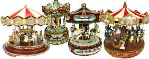 carrousel man ge et boite musique. Black Bedroom Furniture Sets. Home Design Ideas