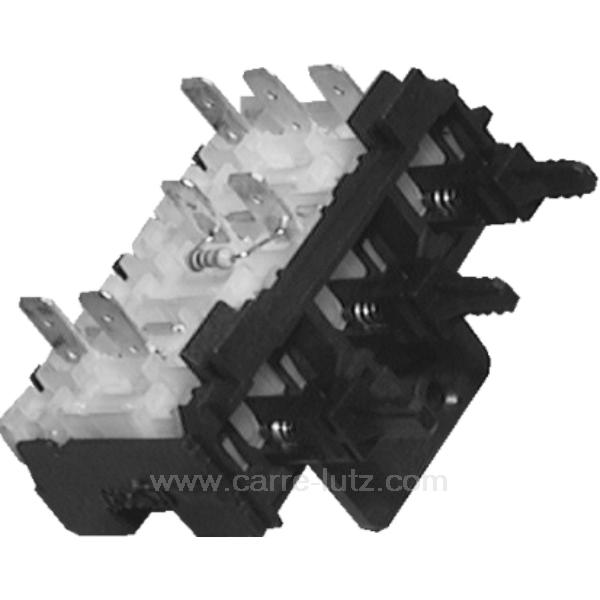 selecteur 3 touches de lave linge brandt vedette 51x9914. Black Bedroom Furniture Sets. Home Design Ideas