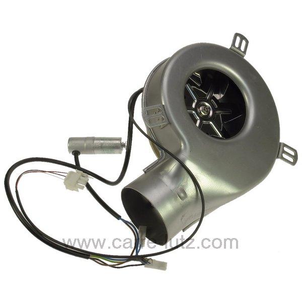 Ventilateur extracteur de fum e ric282 de poele a pellet - Extracteur de fumee pour cheminee exterieure ...