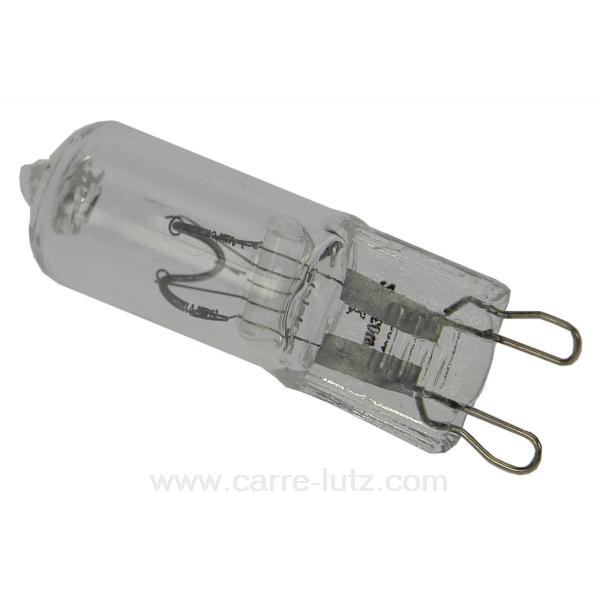 ampoule halog ne g9 60w 230v eclairage ampoule halog ne 620107. Black Bedroom Furniture Sets. Home Design Ideas