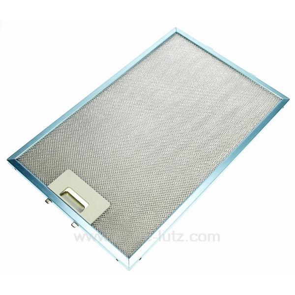 filtre graisse m tal 242x380 mm de hotte aspirante ariston indesit scholtes c00139286 pi ces. Black Bedroom Furniture Sets. Home Design Ideas