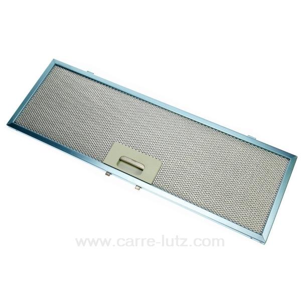 filtre graisse m tal 148x453 mm de hotte aspirante ariston indesit scholtes c00098726 pi ces. Black Bedroom Furniture Sets. Home Design Ideas