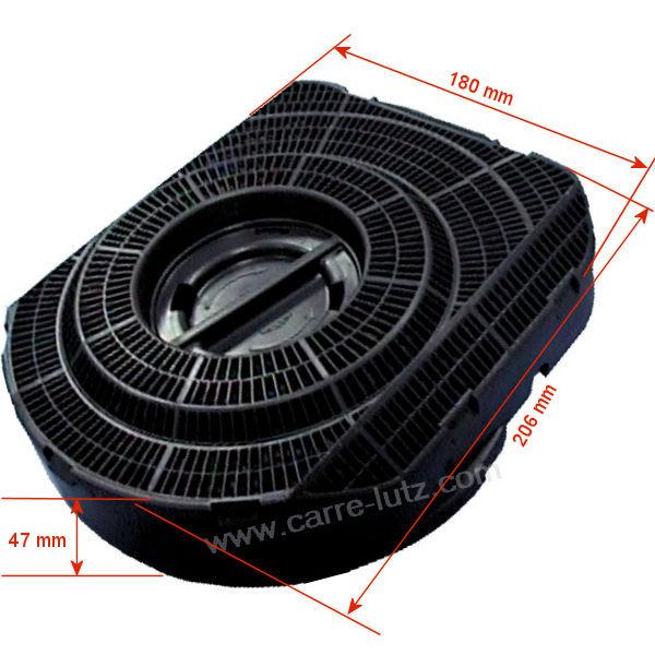 IGNIS TYPE 28 Carbone Hotte Filtre 481948048319