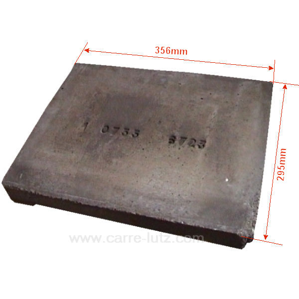 Brique refractaire pour poele a bois  brique refractaire poele bois