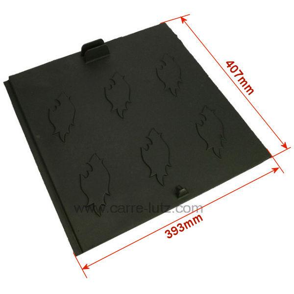 plaque arri re pour insert godin 3268 3283 pi ces d tach es chauffage pi ces d tach es pour. Black Bedroom Furniture Sets. Home Design Ideas