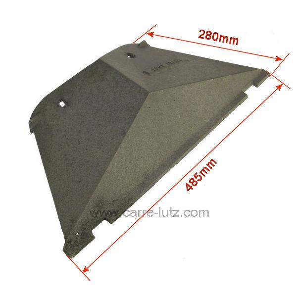 d flecteur pour insert godin 1210 pi ces d tach es chauffage pi ces d tach es pour appareils. Black Bedroom Furniture Sets. Home Design Ideas