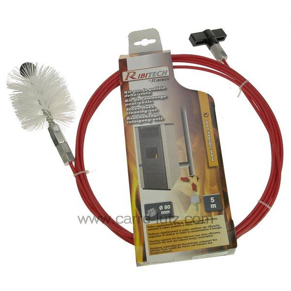 Accessoires et produits d 39 entretien pour appareils de - Kit de ramonage ...