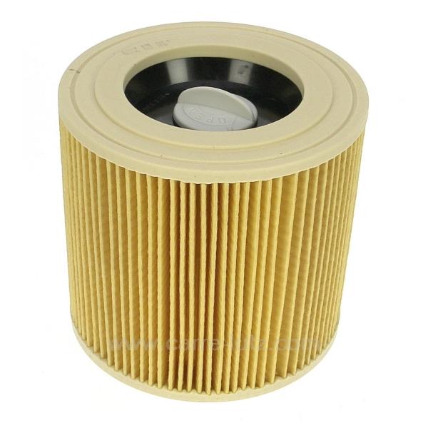 cartouche filtre d 39 aspirateur karcher 64145520 pi ces d tach es electrom nager aspirateur. Black Bedroom Furniture Sets. Home Design Ideas