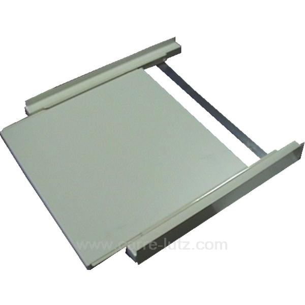 kit de superposition avec tablette coulissante quincaillerie accessoires divers 901061. Black Bedroom Furniture Sets. Home Design Ideas