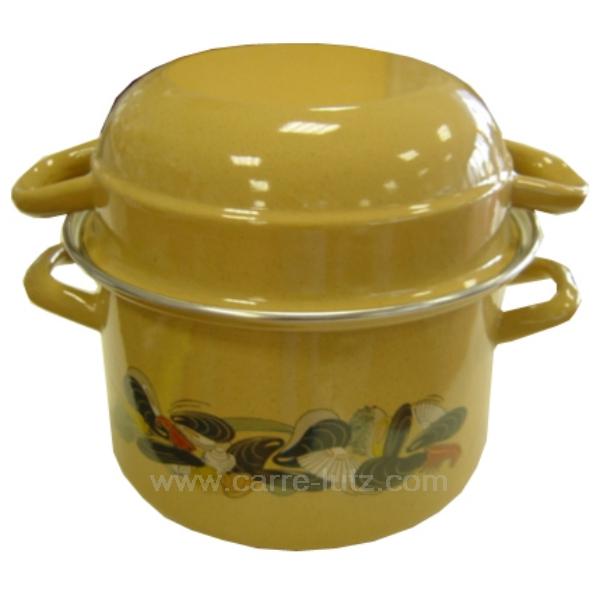 marmite moules frites beige la cuisine batteries de. Black Bedroom Furniture Sets. Home Design Ideas