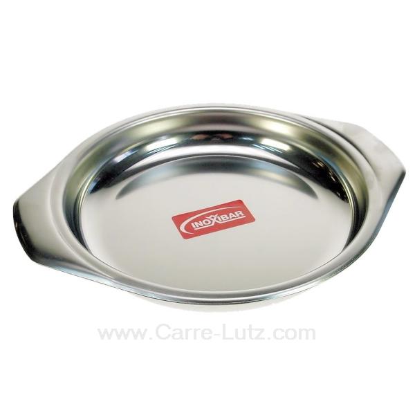 Plat oeuf ou welch inox diam tre 16 cm la cuisine for Plat cuisine inox
