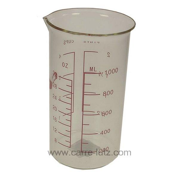 verre mesureur en verre 1 litre la patisserie mesureur et doseur 991ib509. Black Bedroom Furniture Sets. Home Design Ideas