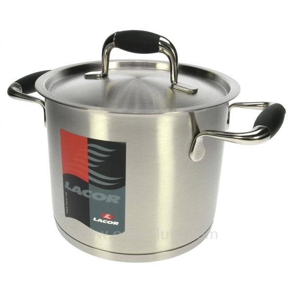 Batterie de cuisine inox lacor mod le premium for Modele cuisine inox
