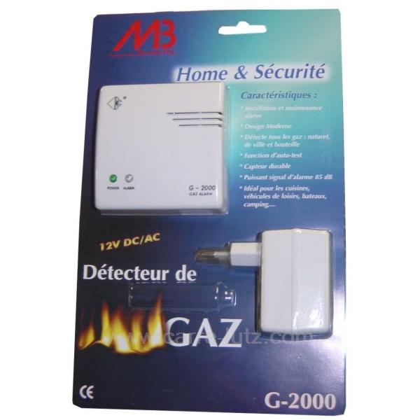 detecteur de gaz de ville d tecteur de fum e lifebox. Black Bedroom Furniture Sets. Home Design Ideas
