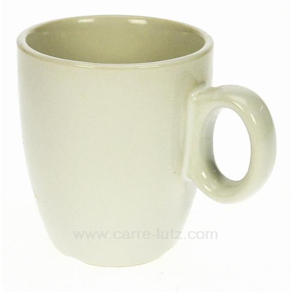 tasse caf blanche arts de la table porcelaine gres. Black Bedroom Furniture Sets. Home Design Ideas