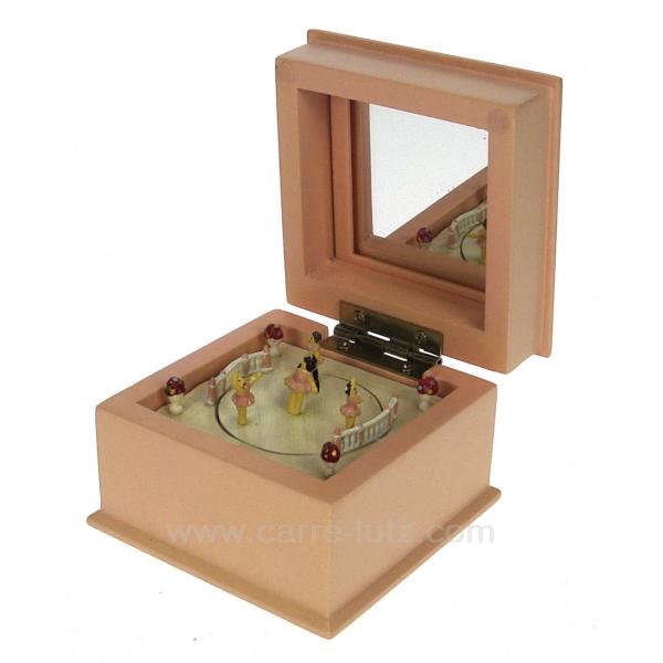 petit boite musicale rose cadeaux d coration carrousel man ge et boite musique boite. Black Bedroom Furniture Sets. Home Design Ideas