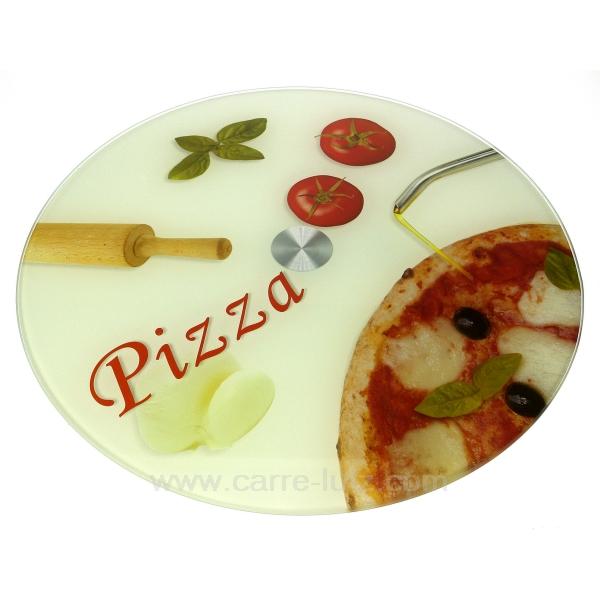 plat pizza tournant la cuisine plat couteau et. Black Bedroom Furniture Sets. Home Design Ideas