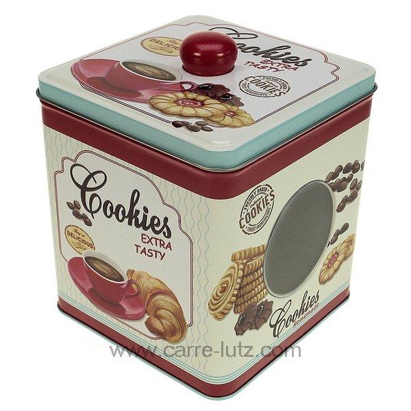 boite en m tal cookies la patisserie boite biscuits cl29000098. Black Bedroom Furniture Sets. Home Design Ideas