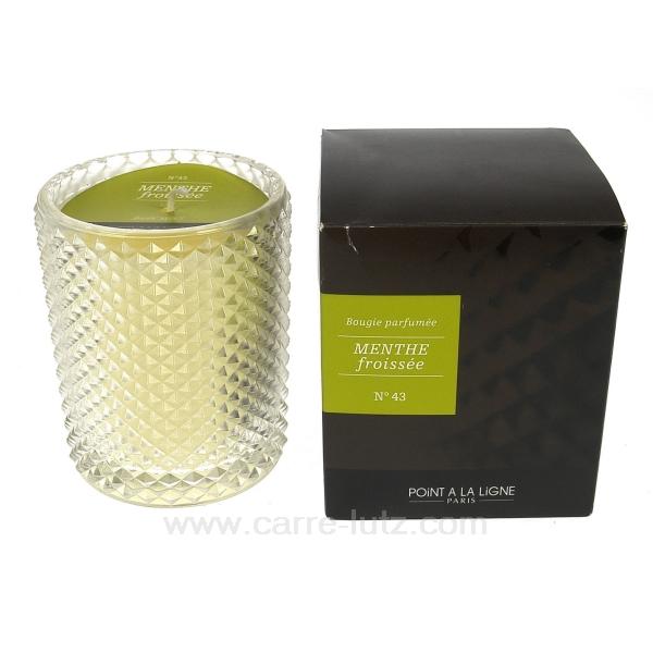 bougie parfum e menthe froiss cadeaux d coration senteurs et bougies bougie bougies. Black Bedroom Furniture Sets. Home Design Ideas