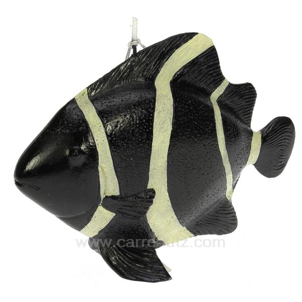 poisson noir et blanc cadeaux d coration senteurs et bougies bougie animaux cl31000101. Black Bedroom Furniture Sets. Home Design Ideas