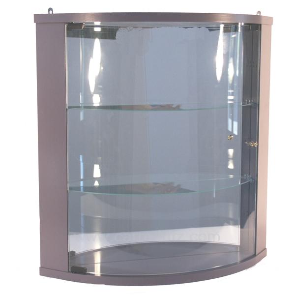 Vitrines et petits meubles pour expositions pr sentations - Vitrine d angle en verre ...