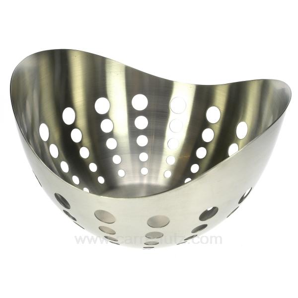corbeille pain ou fruit inox la cuisine boite et corbeille a pain cl50150408. Black Bedroom Furniture Sets. Home Design Ideas