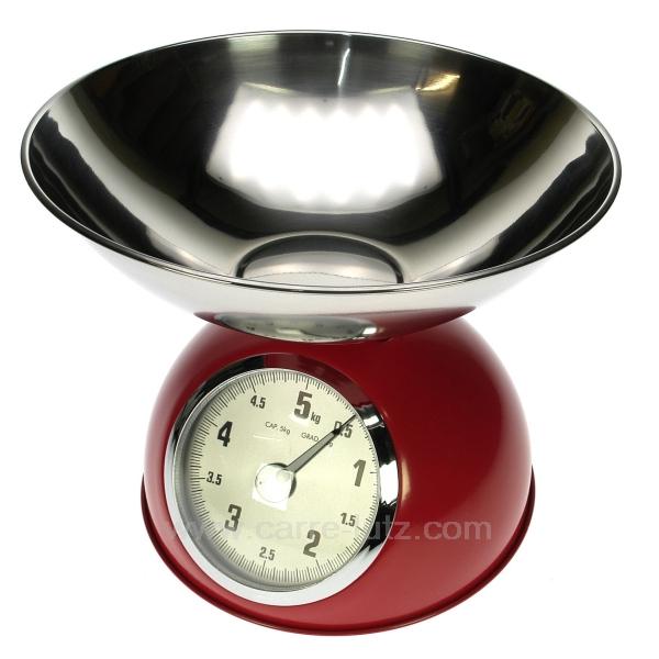 balance cuisine 5 kg rouge la cuisine balance alimentaire cl50156004. Black Bedroom Furniture Sets. Home Design Ideas