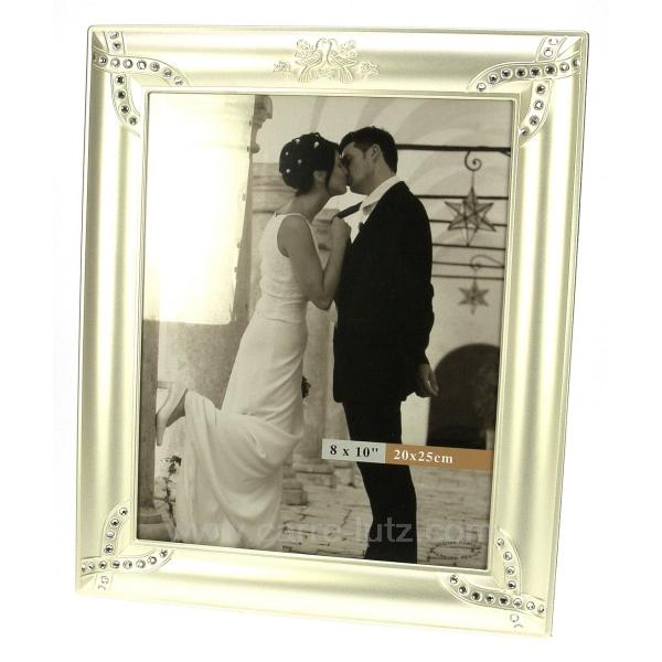 cadre photo mariage colombe cadeaux d coration cadre et porte photo cl84000044. Black Bedroom Furniture Sets. Home Design Ideas