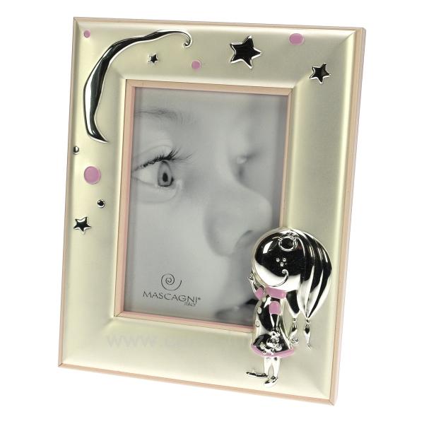cadre photo fille rose cadeaux d coration cadre et porte photo cl84000067. Black Bedroom Furniture Sets. Home Design Ideas