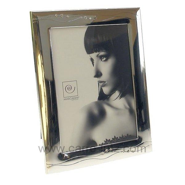 cadre photo 13x18 argent vague strass cadeaux d coration. Black Bedroom Furniture Sets. Home Design Ideas