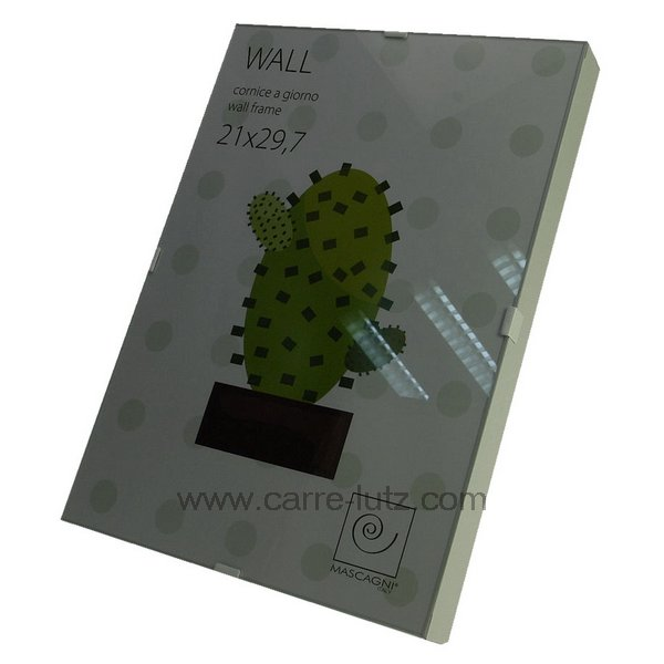 cadre photo 21 x 29 7 cm sous verre bord blanc cadeaux d coration cadre et porte photo. Black Bedroom Furniture Sets. Home Design Ideas