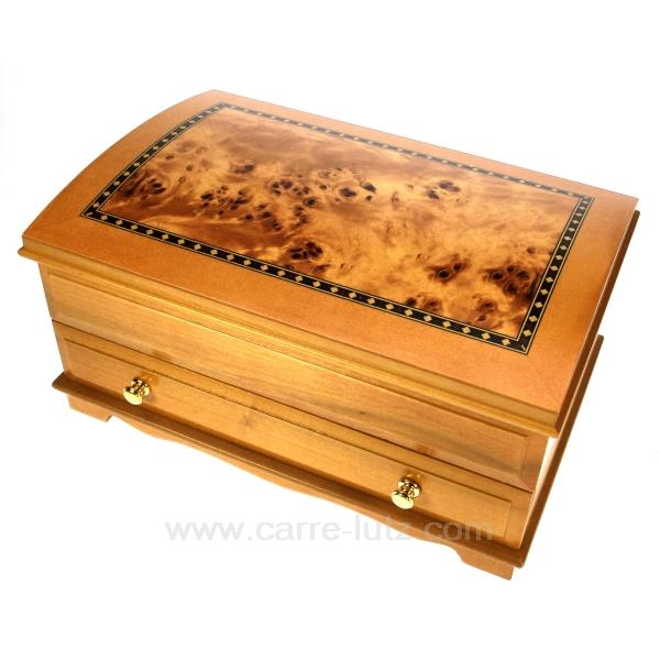 Coffret bijoux bois marquett cadeaux d coration boite for Decoration boite a bijoux