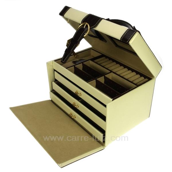 Coffret bijoux ivoire marron cadeaux d coration boite - Cuisiner des marrons en boite ...