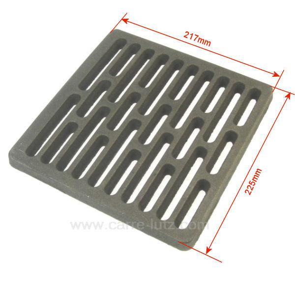grille de fond de foyer p0045915 deville pi ces d tach es chauffage pi ces d tach es pour. Black Bedroom Furniture Sets. Home Design Ideas